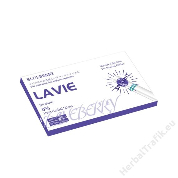 LAVIE ÁFONYA ÍZŰ NIKOTINMENTES HEVÍTŐRÚD PATTINTÓS - 1 DOBOZ